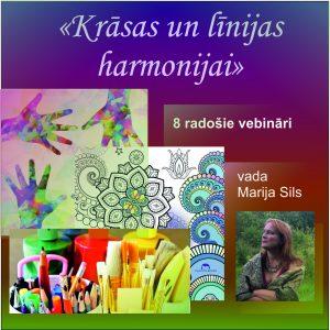 Radošais vebinārs//06.10.21 sākums//Krāsas un līnijas harmonijai// @ ONLINE vebināru cikls/ 120 € par kursu/ 18€ atsevišķa nodarbība